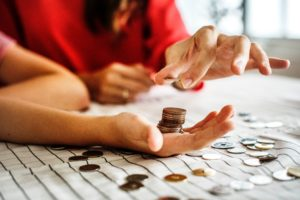 Family counting change